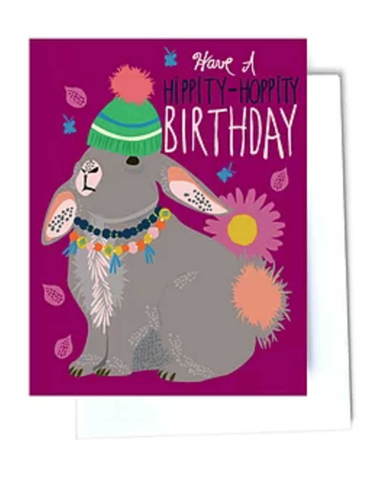 Hippity-Hoppity Birthday Greeting Card