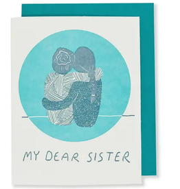 My Dear Sister Greeting Card
