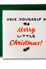 Have Yourself a Merry Little Christmas Tiny Card