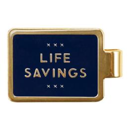 Life Savings Money Clip