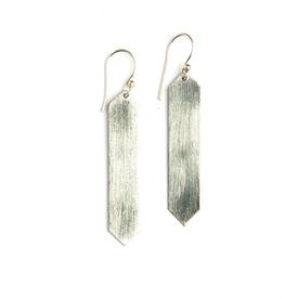 Obelisk Earring Silver