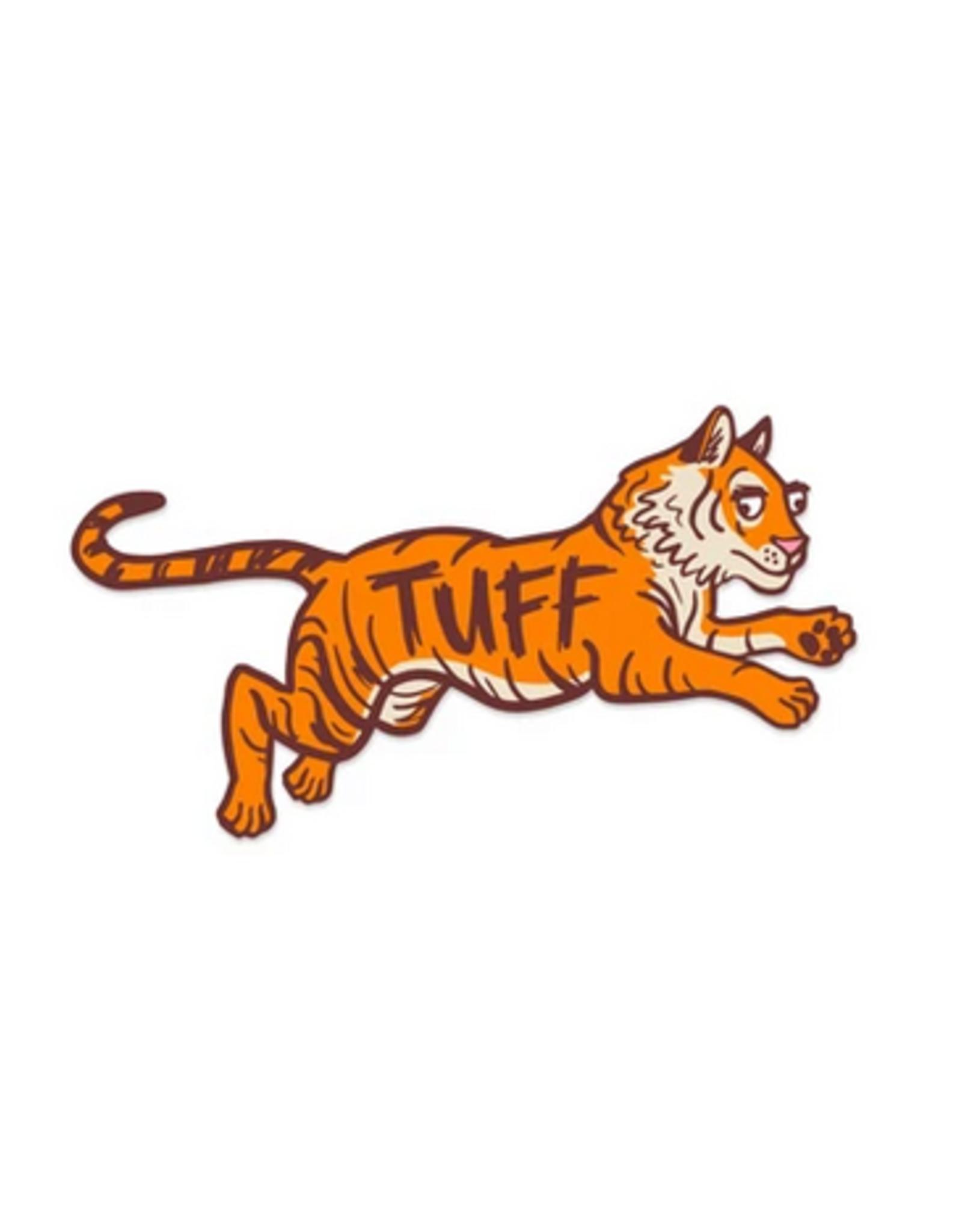Tuff Tiger Sticker