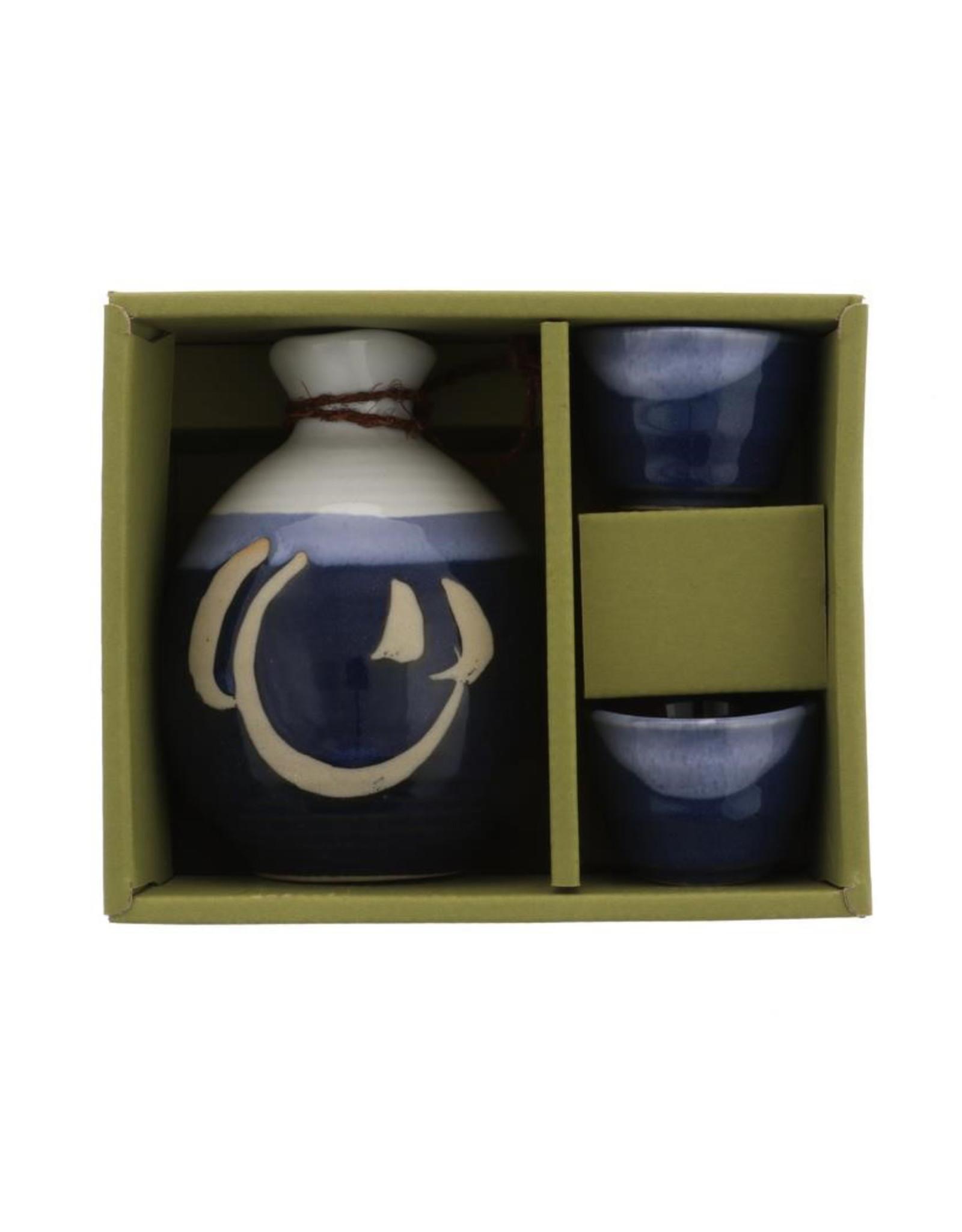 Namako/Shiro Sake Set