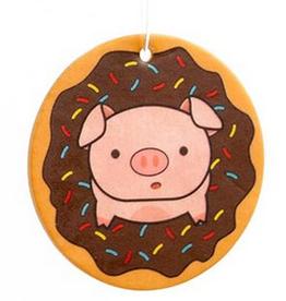 Piggy Doughnut Air Freshener