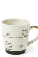 Orange Cat Ceramic Mug