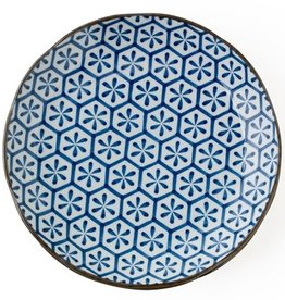 Hana Kikkou (Hexagons) Plate 10""