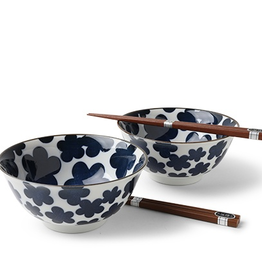 Blue Clouds Bowl Set/2