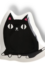Plate Large Kuro (Black Cat)