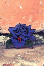 Purple Rose Pin