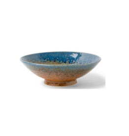 Aoi Nagashi Serving Bowl