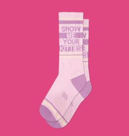 Show Me Your Kitties Gym Socks