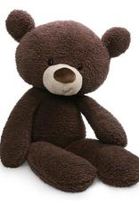 Fuzzy Chocolate Bear