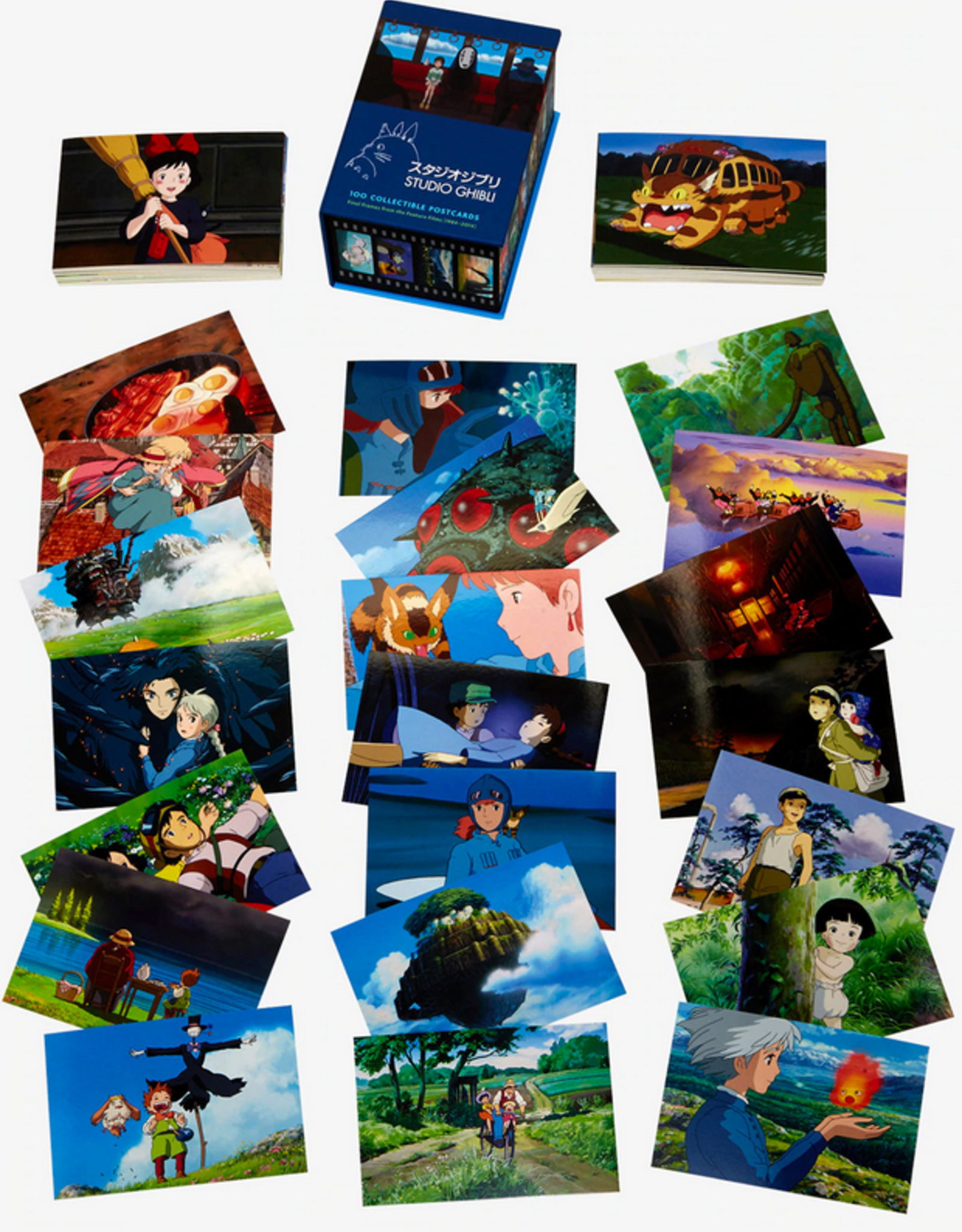 Studio Ghibli (100 Collectible Postcards)