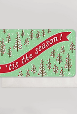 Tis the Season Trees Mini Card