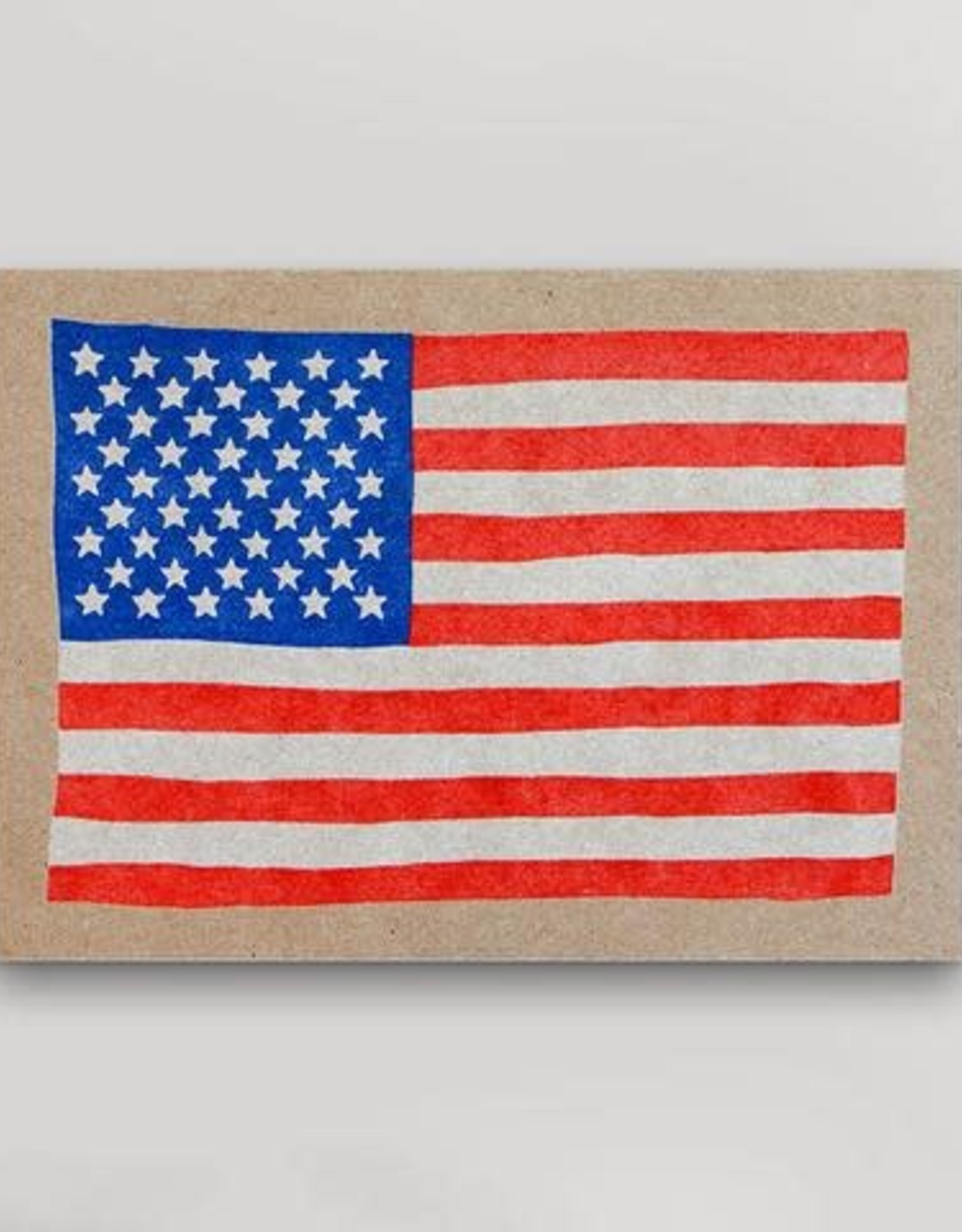 US Flag Mini Print