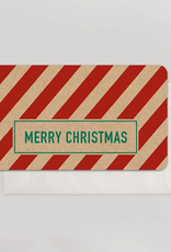 Merry Christmas Candy Cane Mini Card