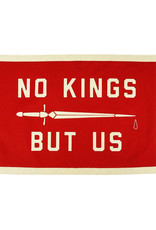 No Kings But Us Camp Flag