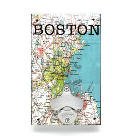Boston Map Bottle Opener
