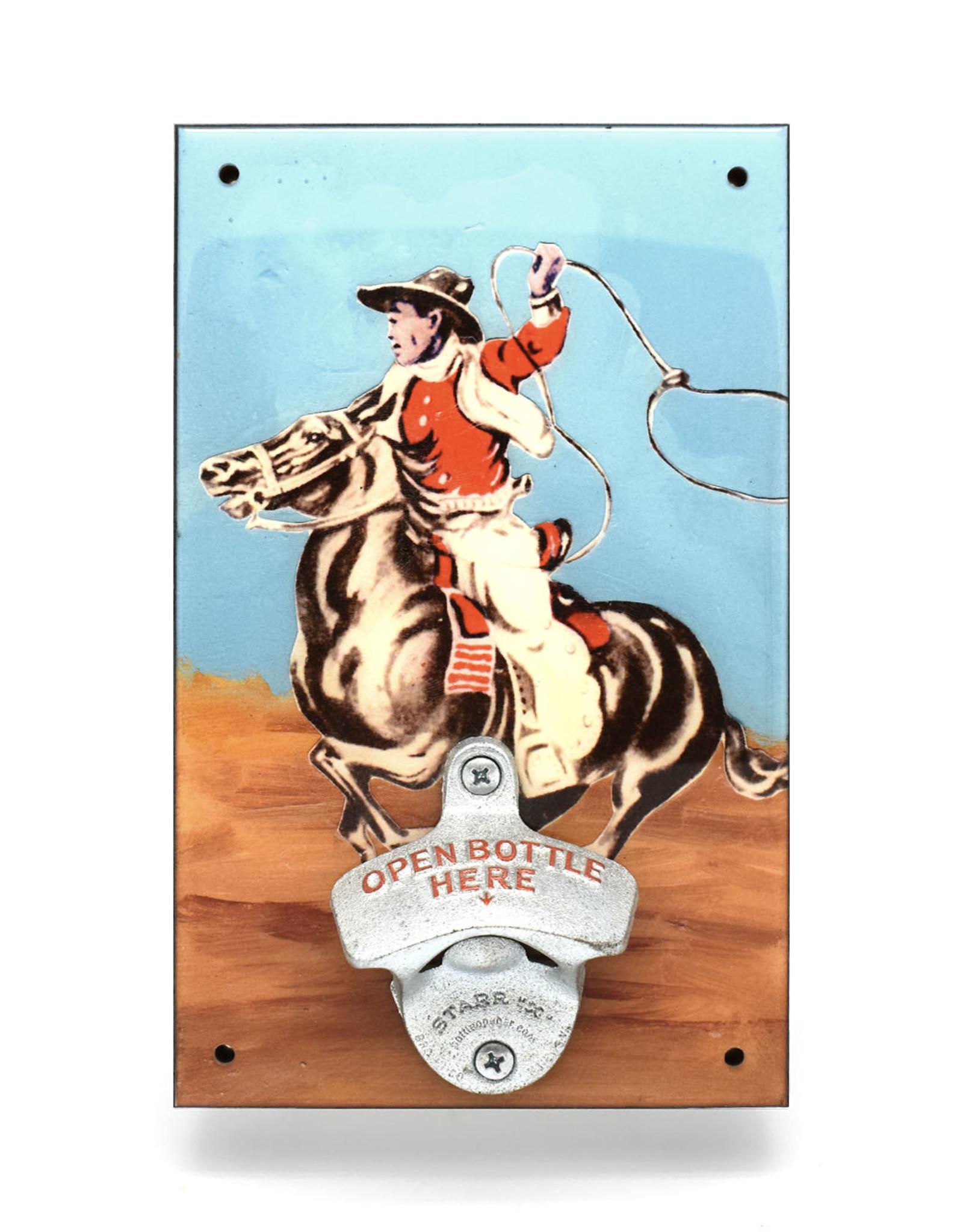 Cowboy Bottle Opener