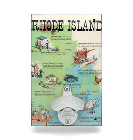Rhode Island History Bottle Opener