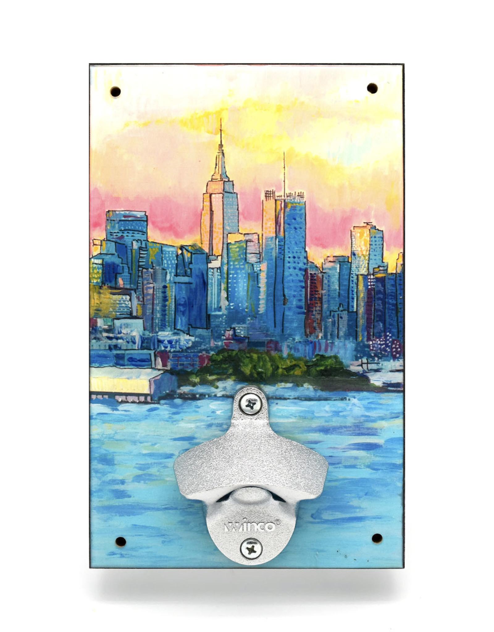 NYC Skyline Bottle Opener