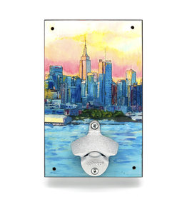 NYC Skyline Bottle Opener