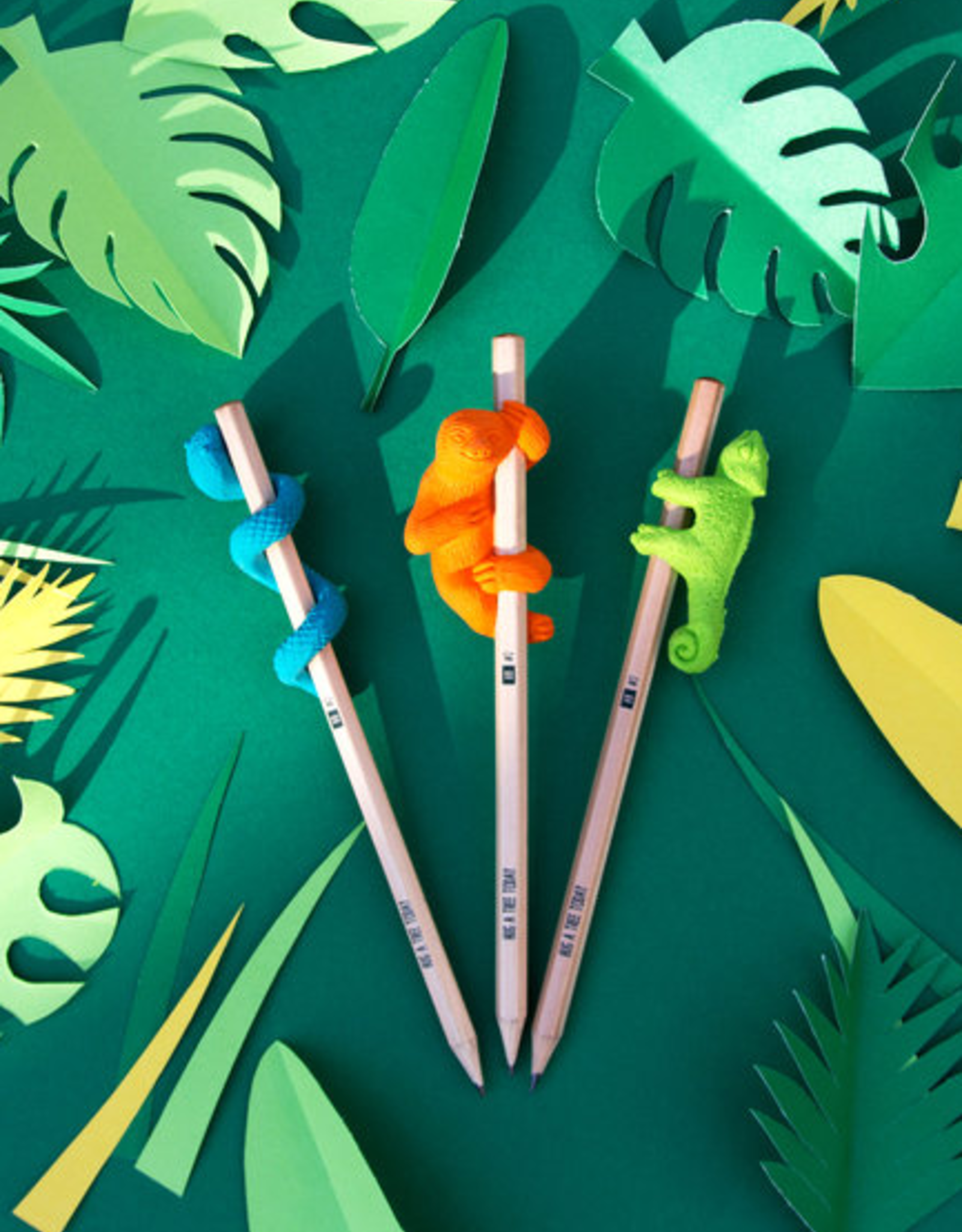 Sloth Jungle Eraser & Pencil Set