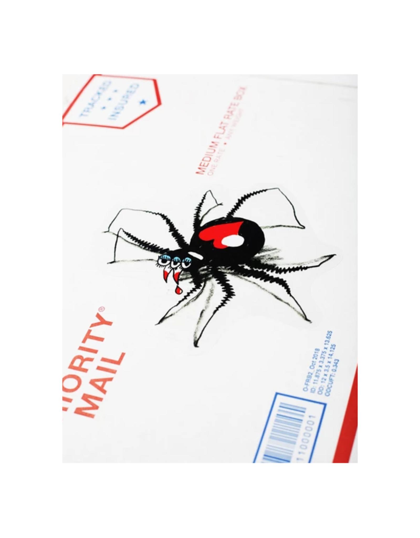 Clear Spider Sticker