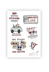 Bad Bitch Sticker Sheet