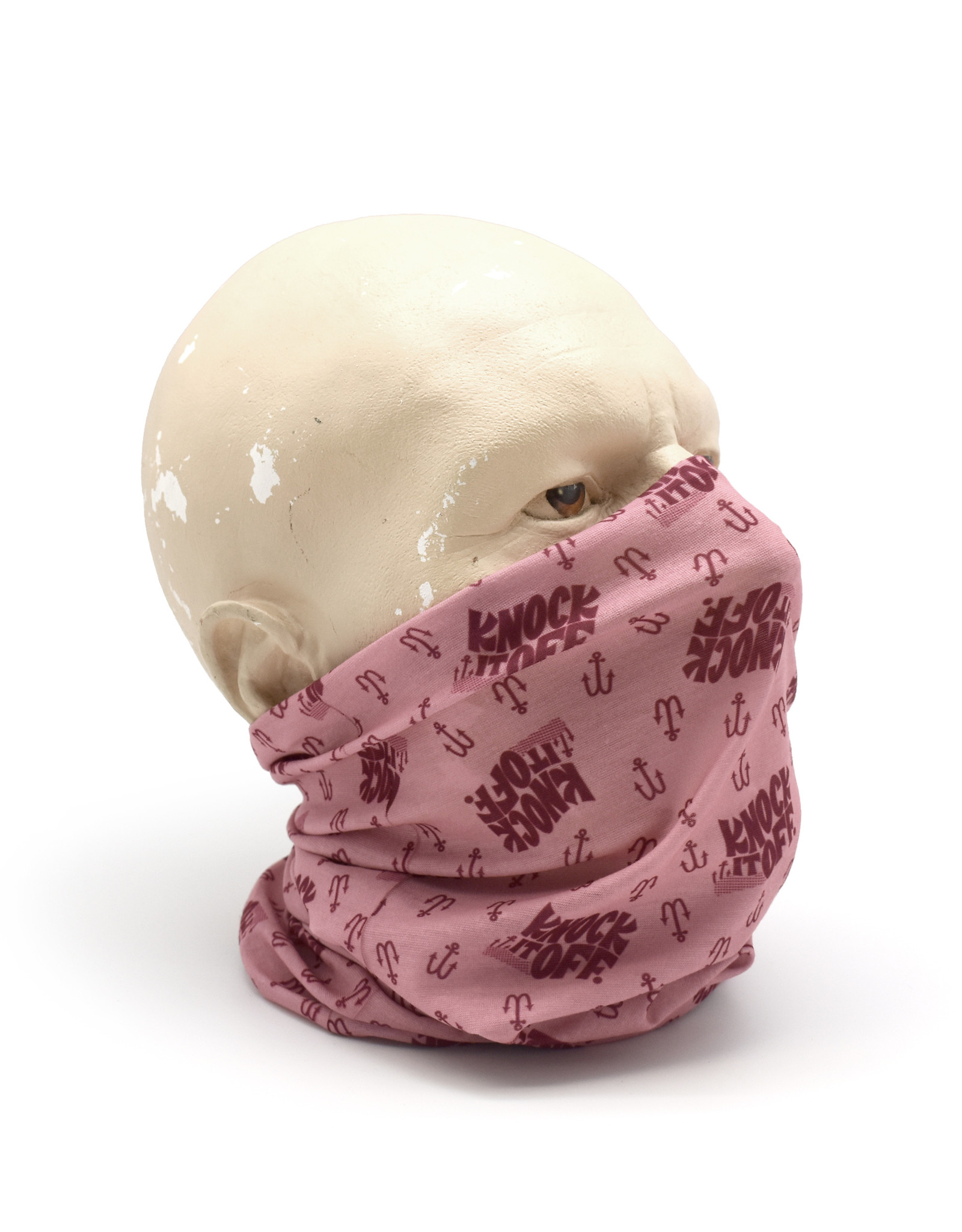 """Knock It Off"" Tube Bandana/Face Covering"
