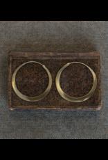 Hoop Brass Earrings, Large