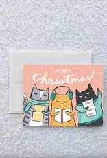 Kitty Carols Boxed Card Set of 8