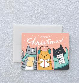Kitty Carols Boxed Card Set of 8