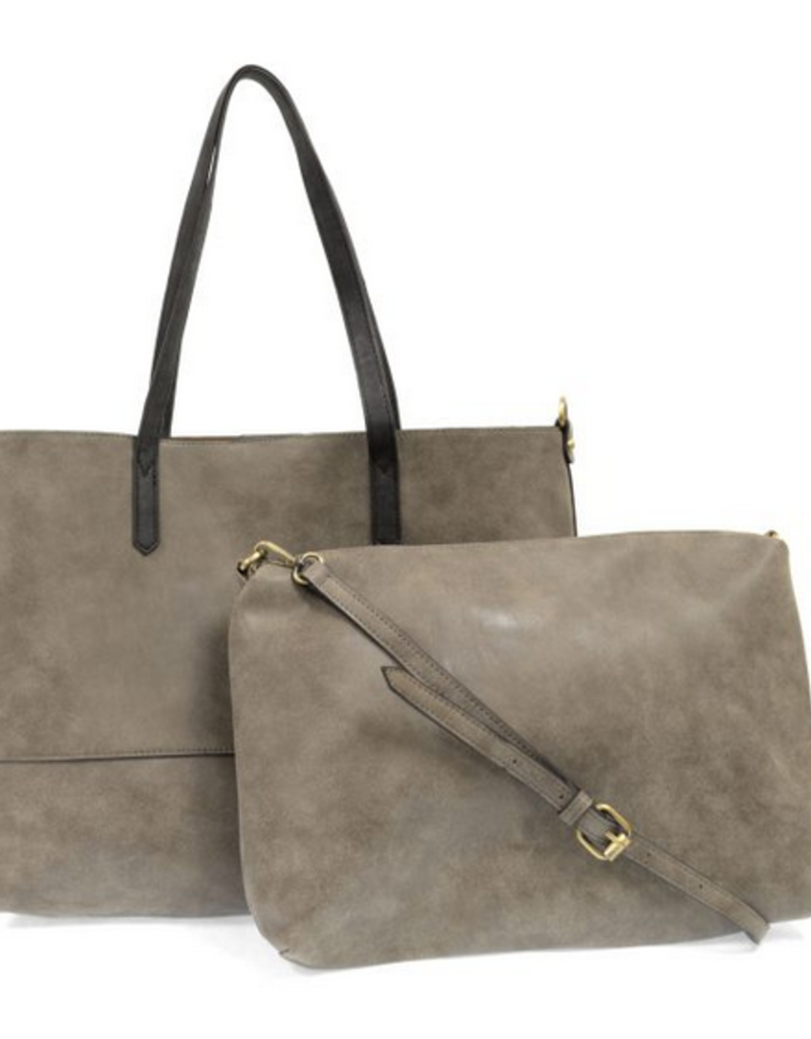 Brushed 2-in-1 Tote (2 colors!)