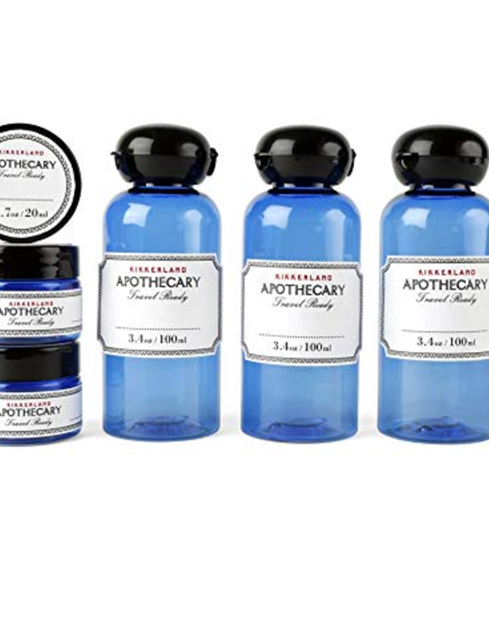 The Weekender Apothecary Travel Set