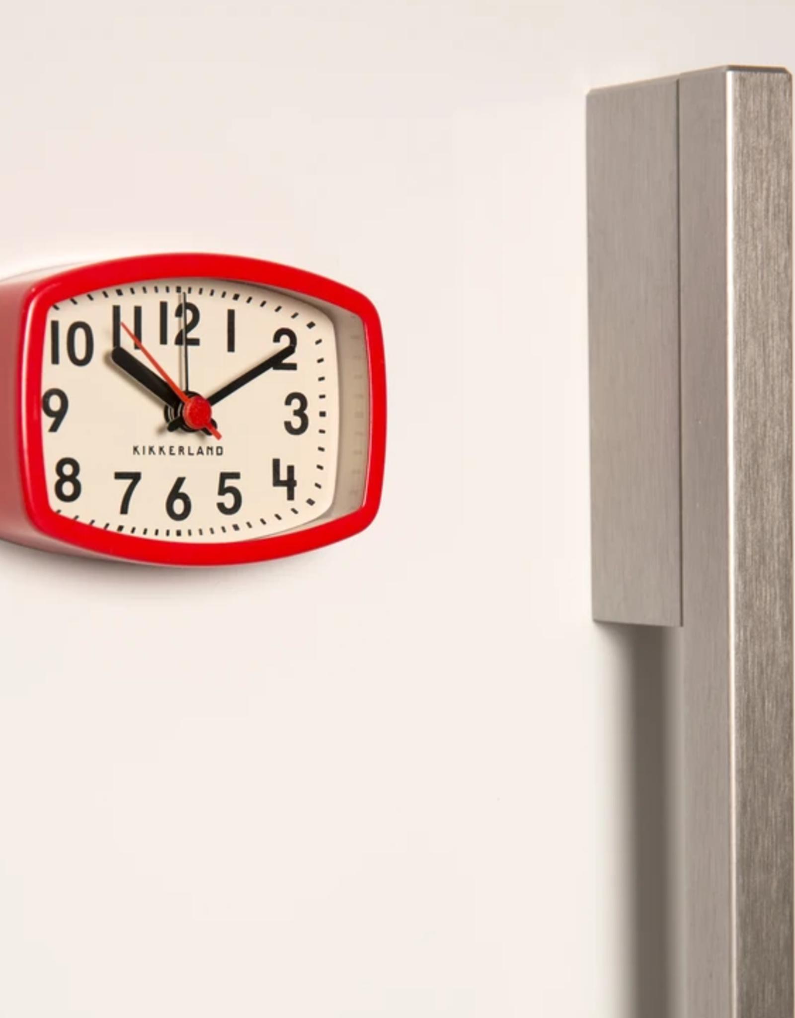 Magnetic Alarm Clock, Red