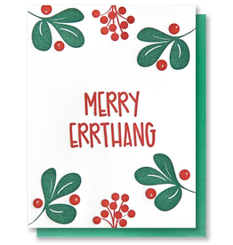Merry Errthang Holiday Greeting Card