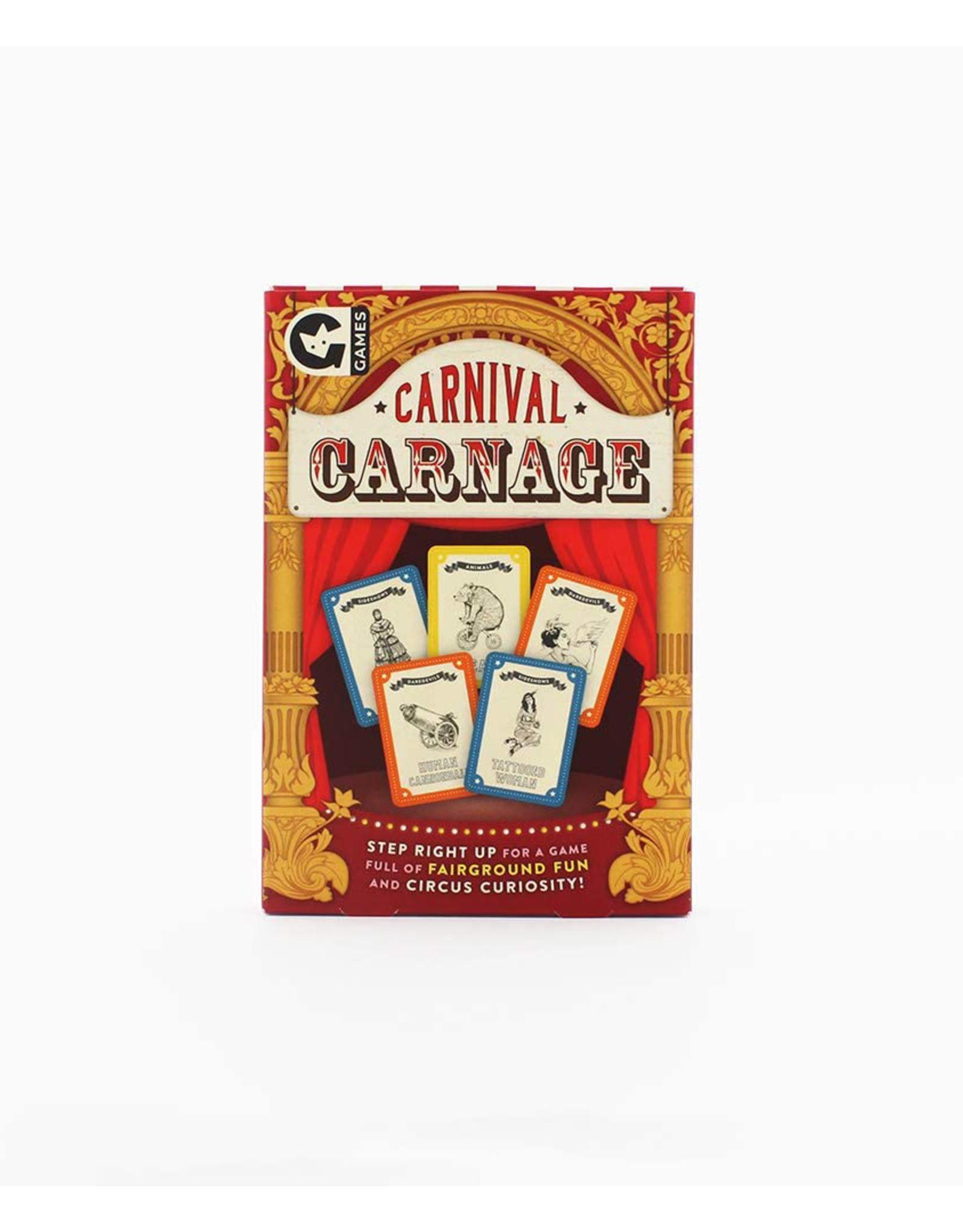 Carnival Carnage Card Game