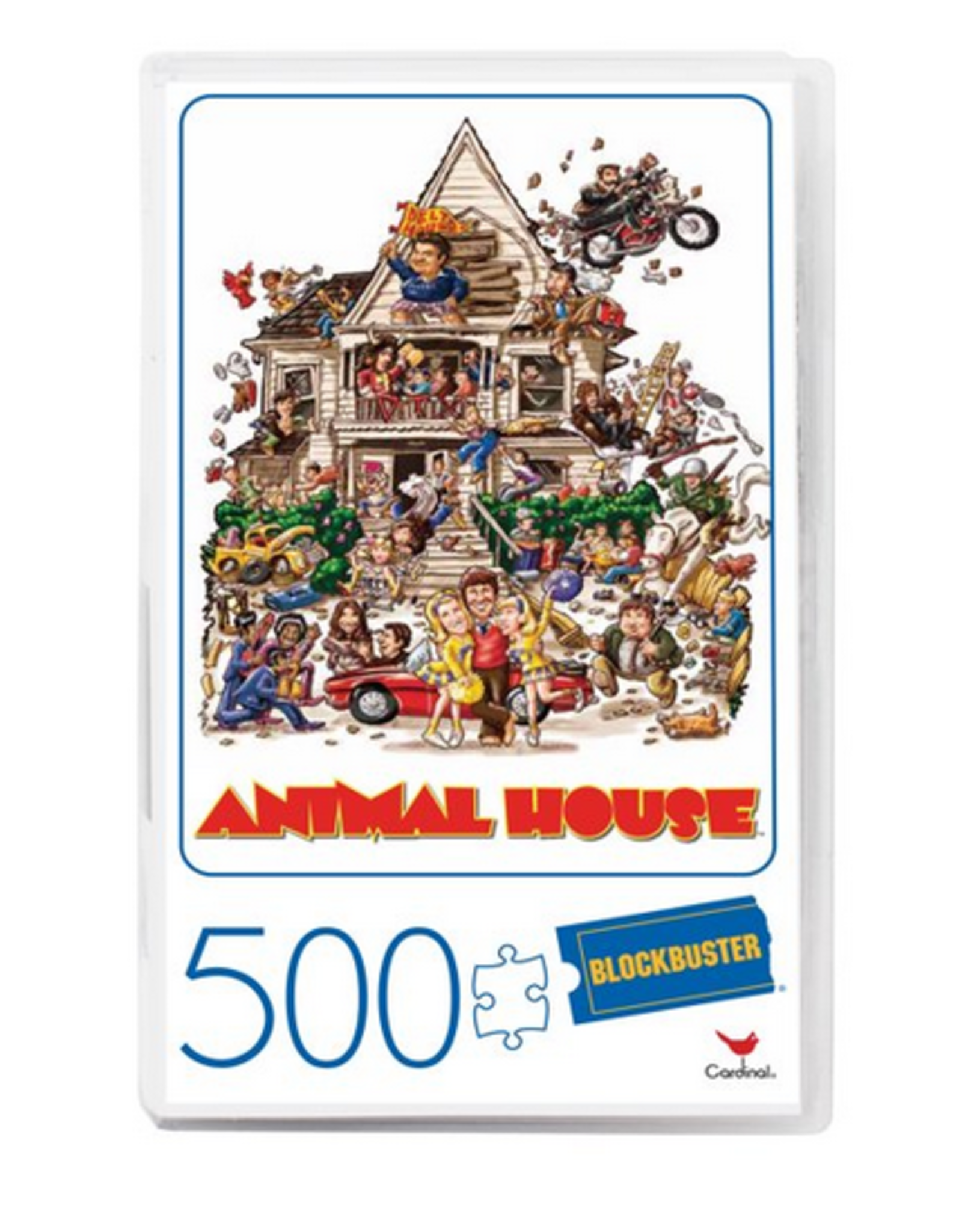 Blockbuster VHS Puzzle 500 Pieces, Animal House