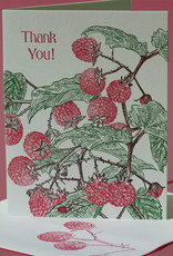 Thank You (Raspberry) Greeting Card