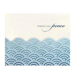 Wishing You Peace Sea Greeting Card