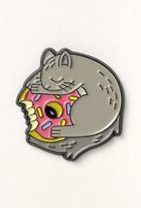 Grey Squirrel Enamel Pin