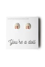 Dolly Parton's Face Earrings