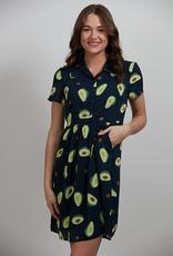 Avocado Print Dress