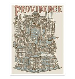 Providence Cityscape Print