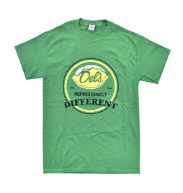 Del's Refreshingly Different T-Shirt (Green)