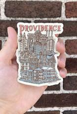 Providence Cityscape Sticker