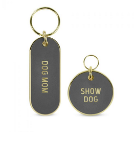Dog Mom/Show Dog Keychain & Pet Tag