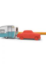 Happy Camper Eraser and Pencil Sharpener