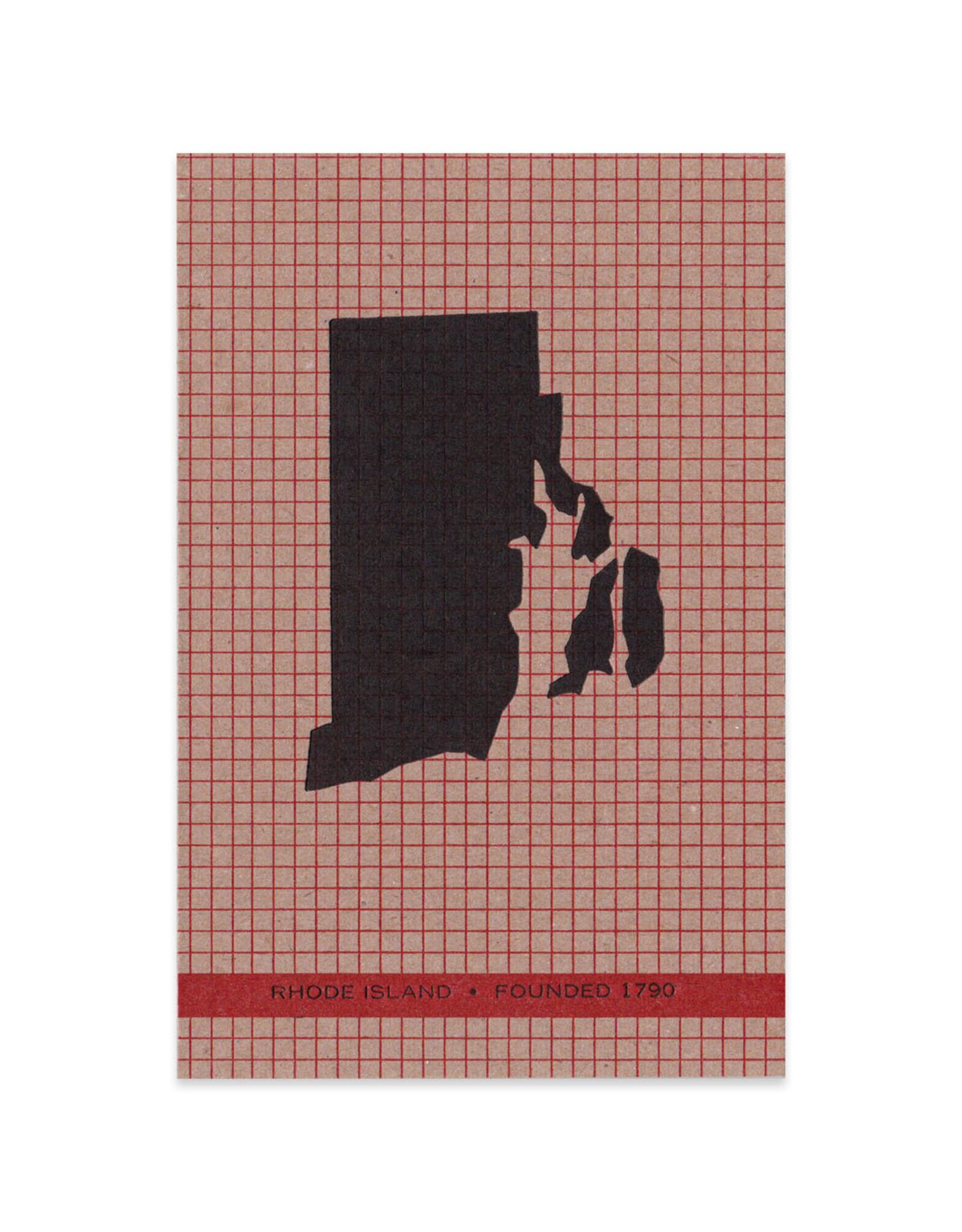 Rhode Island Grid Print (Framed)
